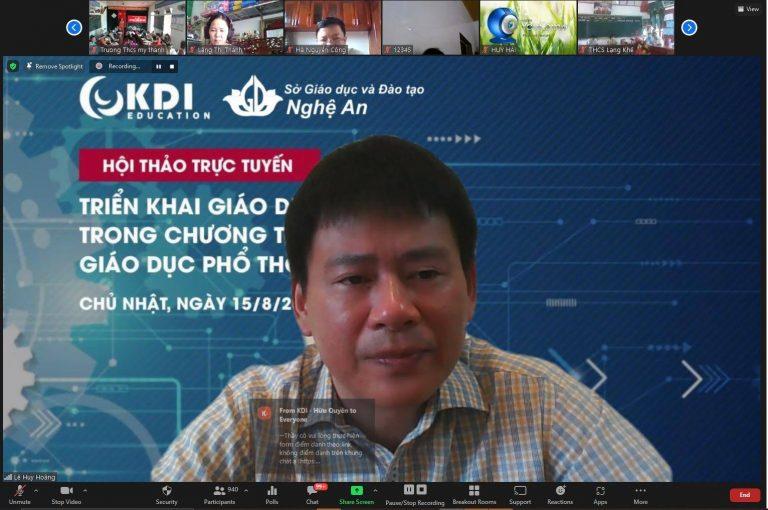 PGS TS Lê Huy Hoàng